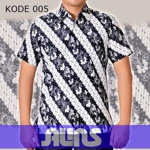 Baju Batik Pria Kode 005 ini merupakan batik printing yang terbuat dari bahan katun. Dibuat dengan jahitan yang rapih dan nyaman saat dipakai.