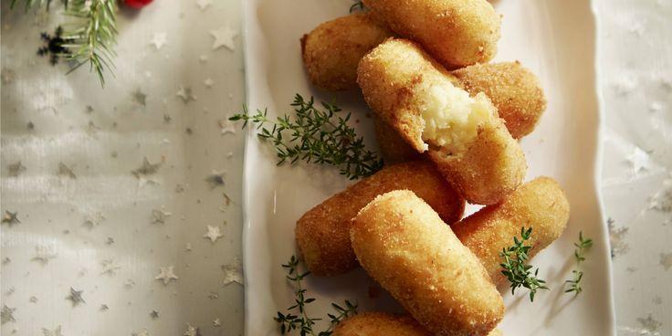 Knolselderijkroketjes met oude kaas 1 uur koelen 50 min breiden 935 kcal 73 kh