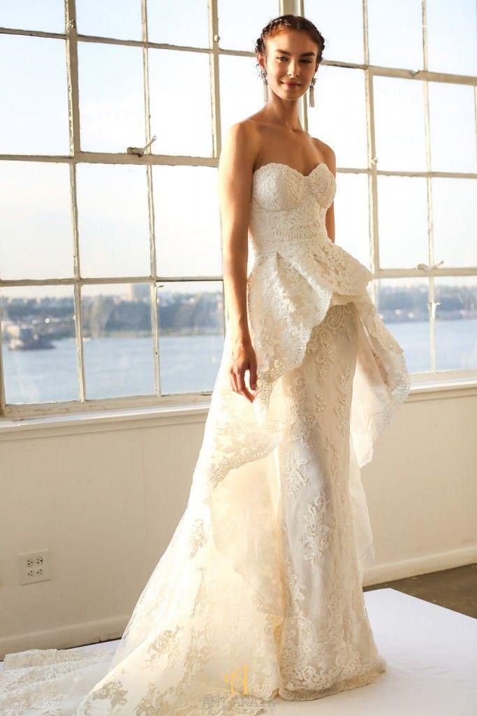15 Pretty Perfect Overskirt Wedding Dresses