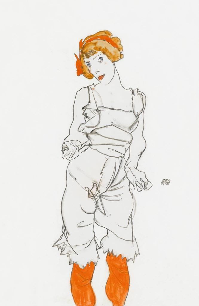 Egon Schiele and Wally