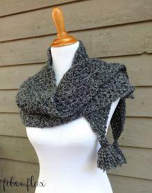Fiber Flux: Free Crochet Pattern...Early Morning Wrap!