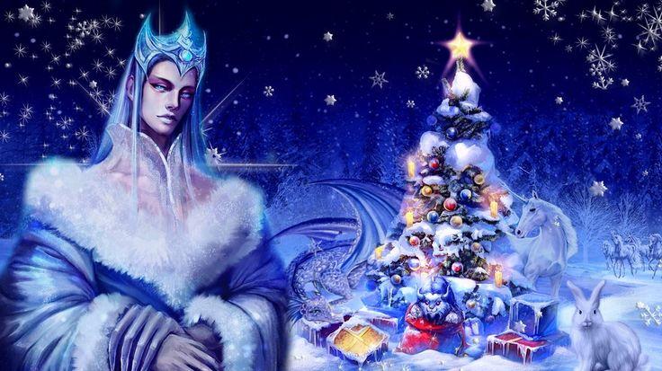 Новый год у Снежного короля.