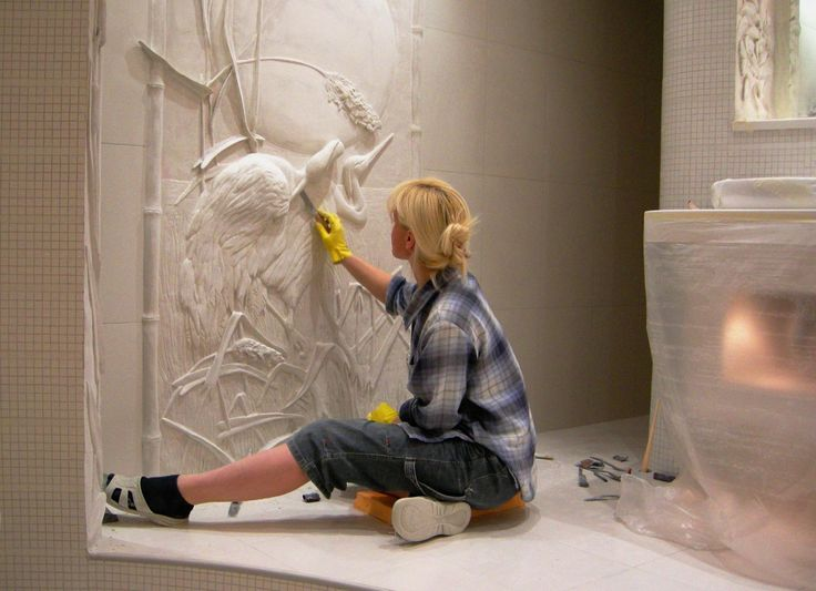 351 best images about sculpting on pinterest mold making for Plaster wall art