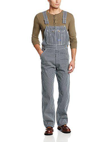 Hickory Stripe Bib Overalls. 100% Cotton. http://www.farmersmarketonline.com/pants.htm