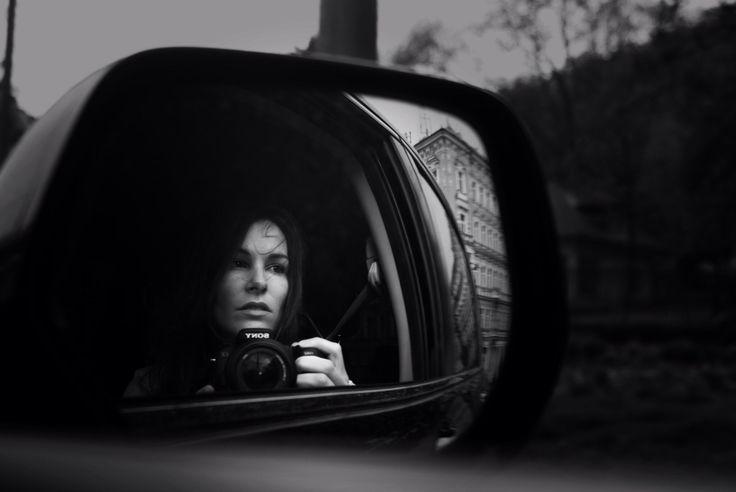 Selfportrait blackandwhite portraiture depression sad