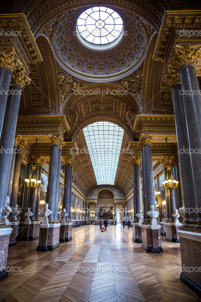 The Versailles palace in Paris, France