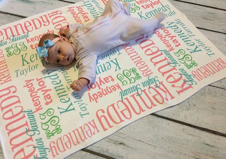 Personalized Baby Blankets - Classic Collection