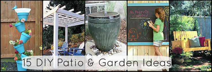 Diy Garden Art | ... need of some pretty DIY projects this Spring. Yours might be too