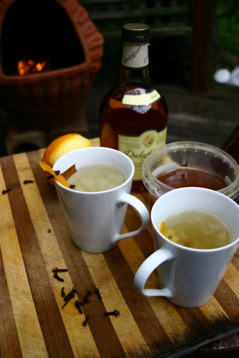 My cold weather tipple - hot toddy