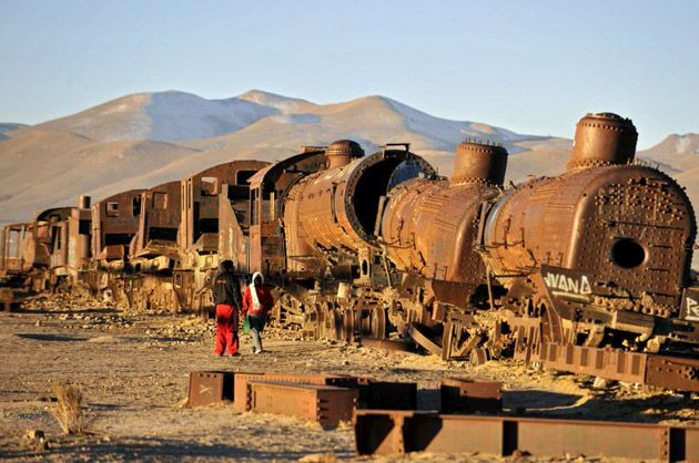 Train Cemetery, Uyuni, Bolivia (2004)