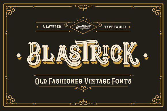 Blastrick  by Graptail on @creativemarket