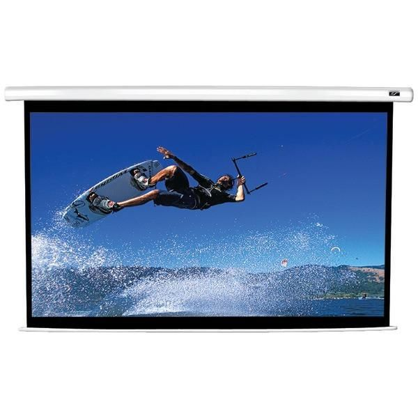 Elite Screens Vmax120xwh2 Vmax2 Series Electric Screen 120 58 8 X 104 6 16 9 Hdtv Format Electric Screen Projection Screen Portable Projector Screen