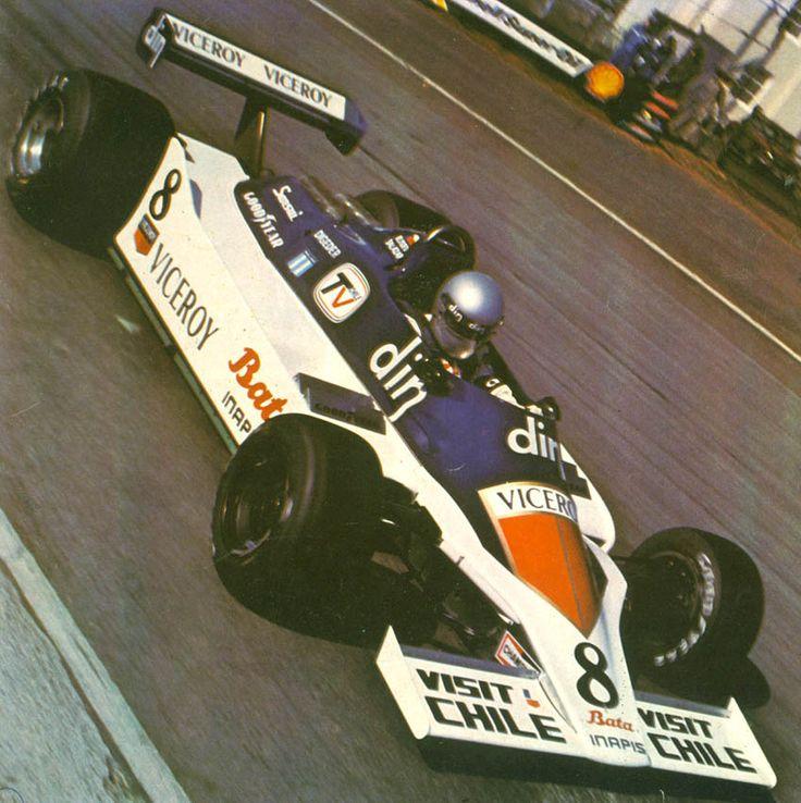 1980 Eliseo Salazar, Williams FW07 Ford Cosworth, Formula 1 Aurora