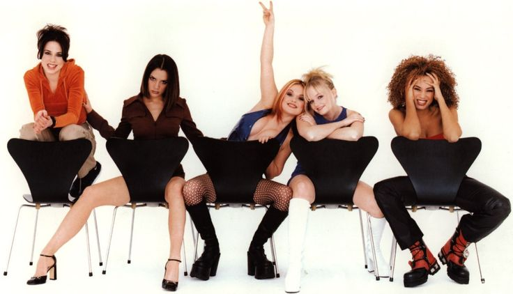 I miss the Spice Girls