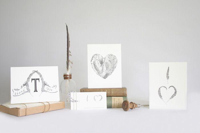vignette by hearblack.com: Fine Lines, Indian Summer, Illustration, Paper Goods, Joanne Hs, Vignette, Nathan Williams