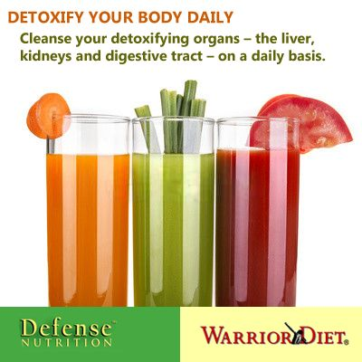 Detoxify your body daily. Cleanse your detoxifying organs – the liver, kidneys and digestive tract – on a daily basis.  Detox Kit – total body herbal cleansing formulas including:  ~> Livafect – liver supportive formula  ~> KidnX – kidney supportive formula  ~> DigestX – synbiotic, digestive tract cleansing formula