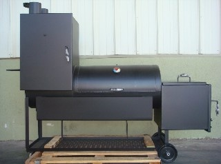 Great site with different grills and smokers.. some with plans to build your own!
