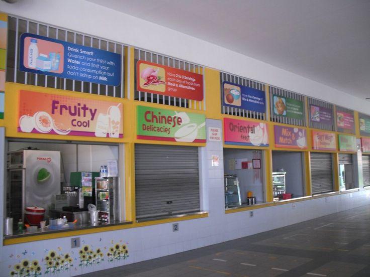 singapore school canteen - Google Search