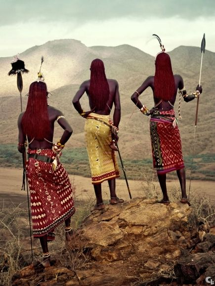 Drodher, AFRICAN TRIBES, The MASAIS.