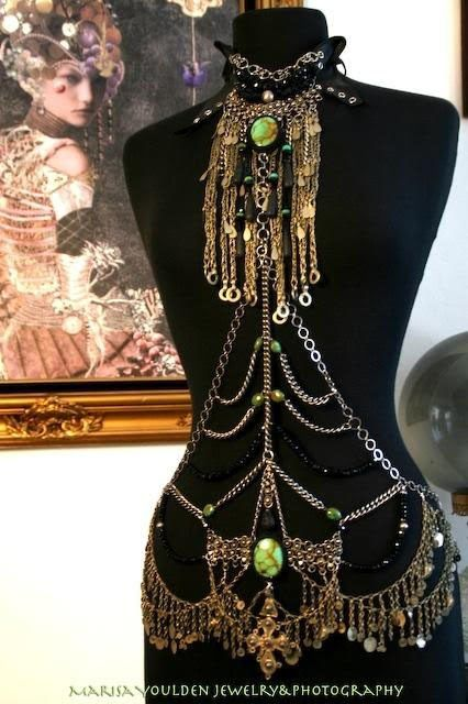 body harness - marisa youlden jewelry