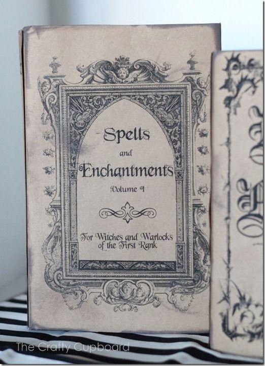 Spelling Book Cover Template : Best halloween spell book ideas on pinterest diy