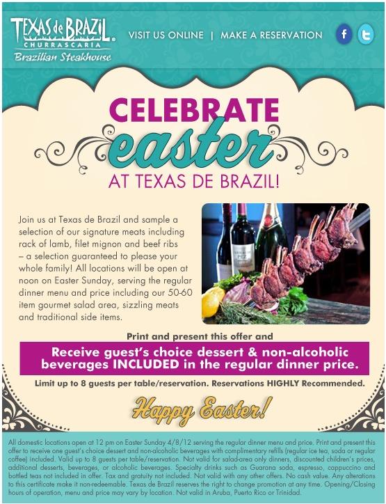 photo regarding Texas De Brazil Printable Coupon identified as Coupon for texas de brazil -