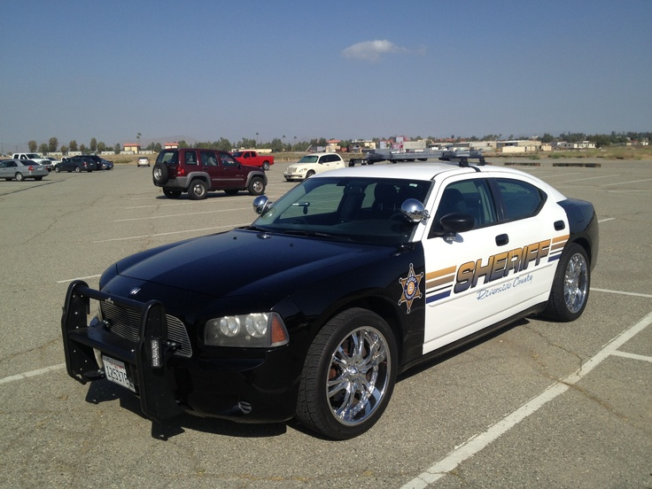 Riverside Sheriff Dodge Charger 2013 Police Car Photos
