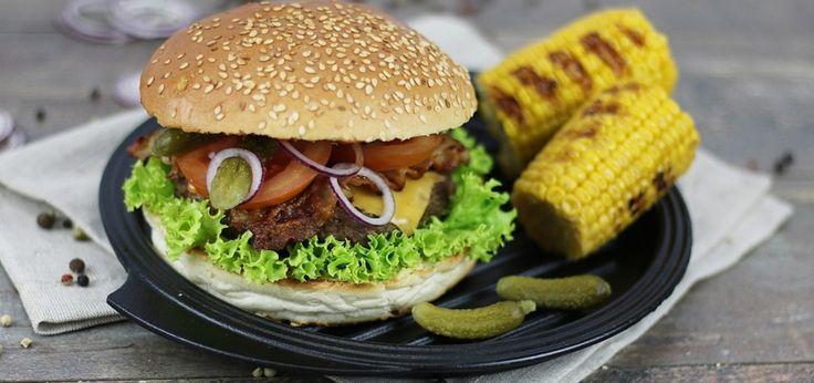 Hamburgery z grilla - main