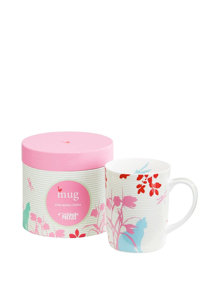 Tea, the most quintessential of English drinks, can now be enjoyed in MOZI's collection of Fine Bone China mugs. They are the perfect gift.