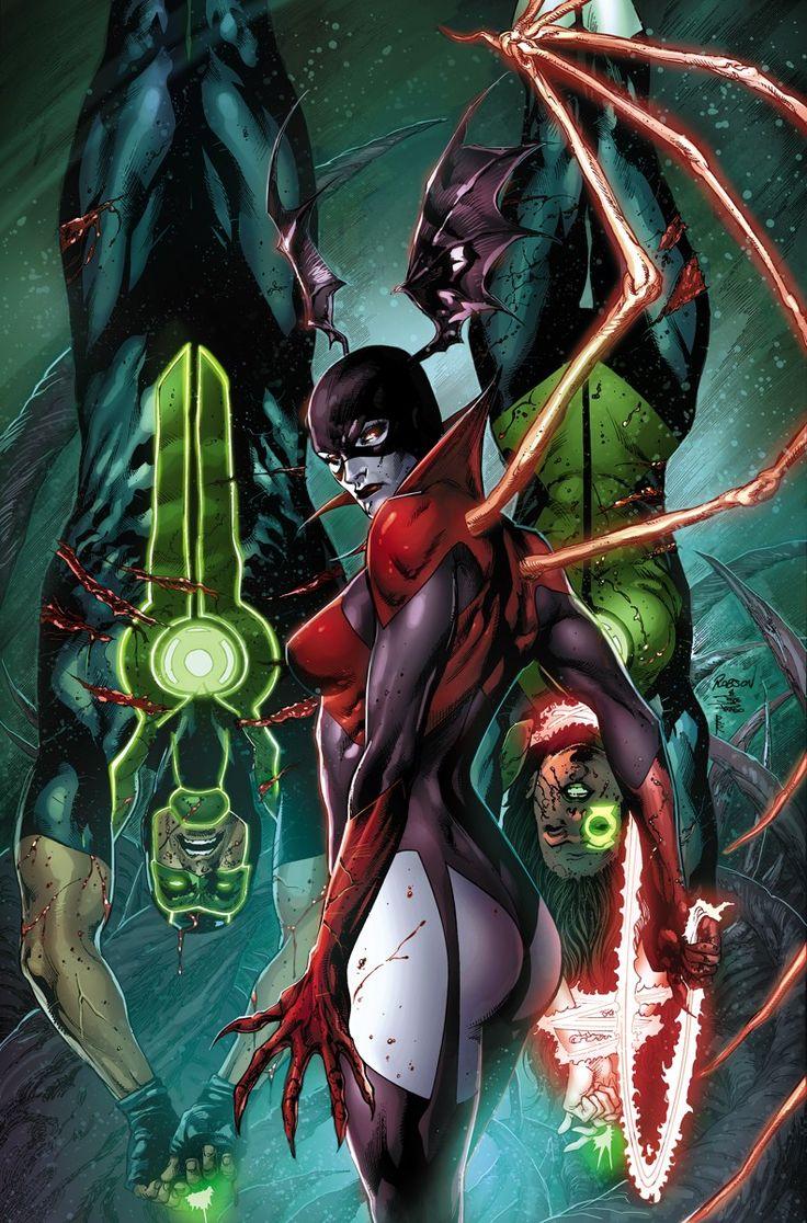 Green Lanterns Jessica Cruz & Simon Baz in Green Lantern # 2 - Cover Art by Robson Rocha & Joe Prado