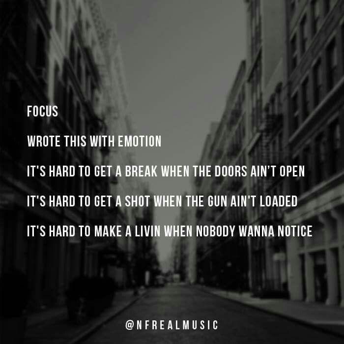 NF lyrics