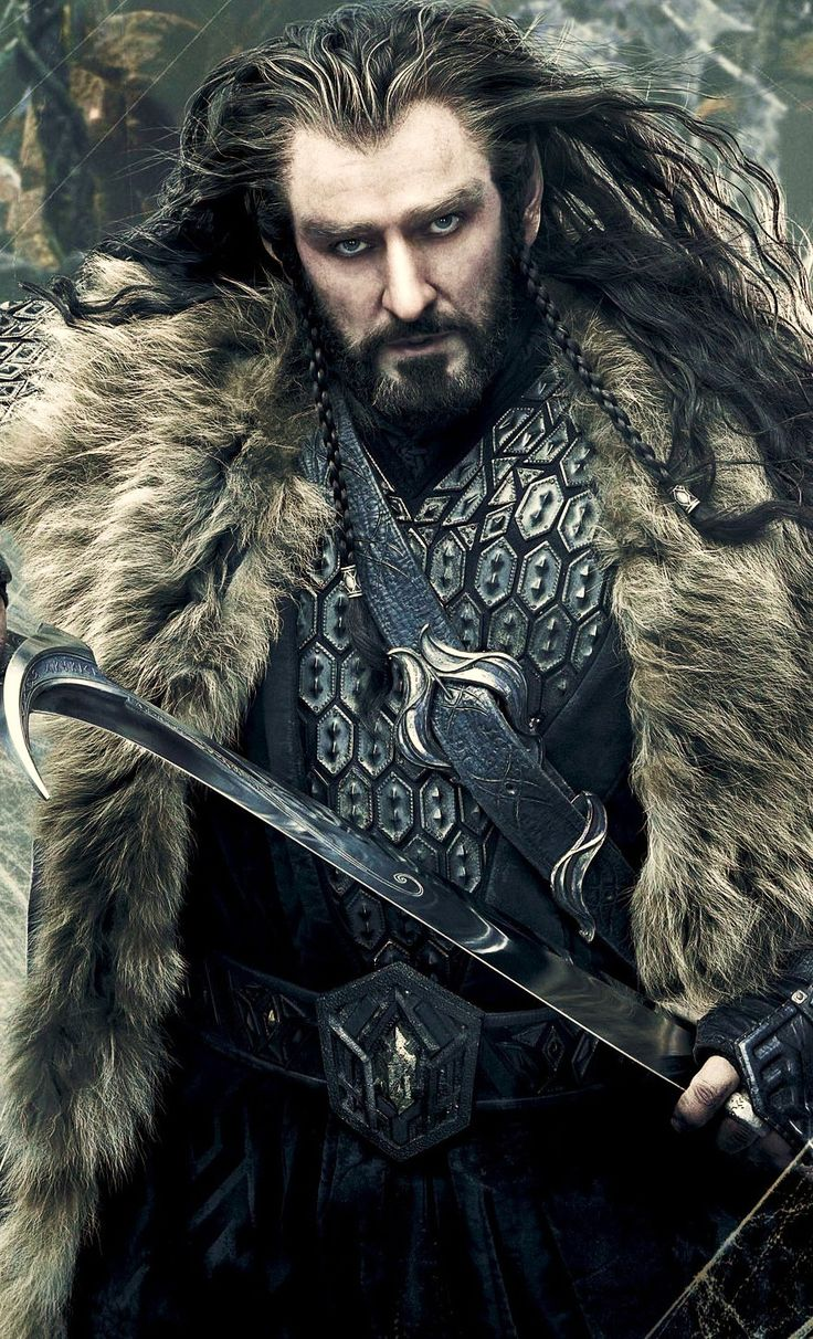 Thorin Oakenshield.  Yes, he goes on this board.  My definition of superhero is very inclusive.  :-)