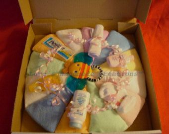Diaper Pizza Baby Girl by meshell609 on Etsy