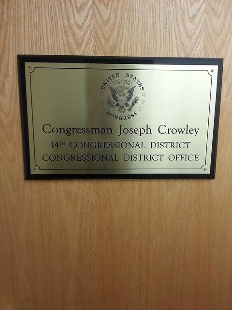 Chris Rieth letter drop to Rep Joseph Crowley (NY-14)