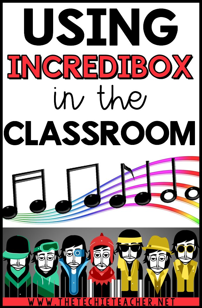 Using the FREE web tool, Incredibox, in the classroom for technology projects. Great way to incorporate music into your curriculum! Will work on Chromebooks, laptops and computers. There is also an iPad app available for $3.99