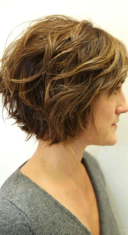 cute short curly haircuts 25 best ideas about wavy bob haircuts on 1928 | 2d47527b7469d2ae542e8eb7e65c93e7 wavy bob haircuts cute short hairstyles