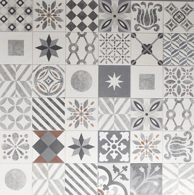 Cementine patchwork 25 20x20 7 87 x7 87 piastrelle for Piastrelle vinile leroy merlin