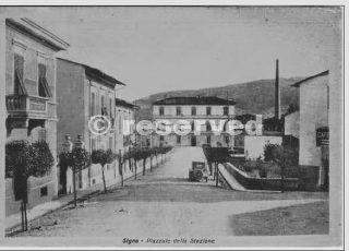 signa 1936 piazza stazione