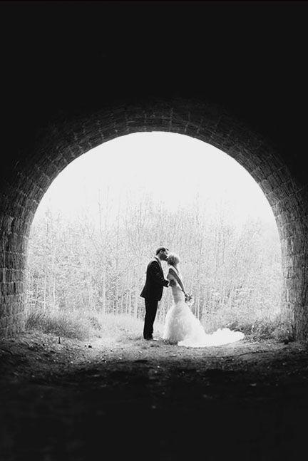 30 Most Creative Wedding Kiss Photos ❤ See more: http://www.weddingforward.com/10-most-creative-wedding-kiss-photos/ #weddings