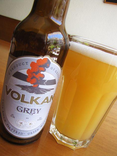 Volkan Grey, White beer with bergamont