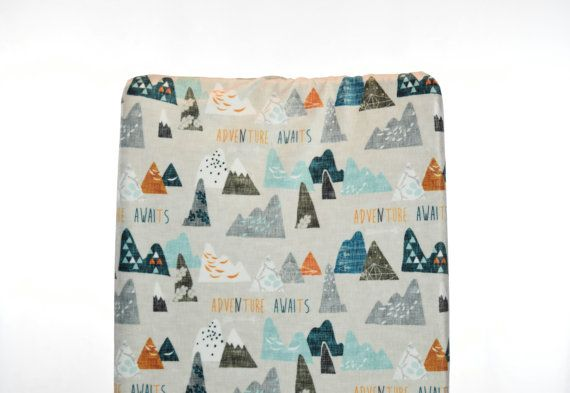 Max Mountain Fitted Crib Sheet Mountains Fitted Crib Sheet