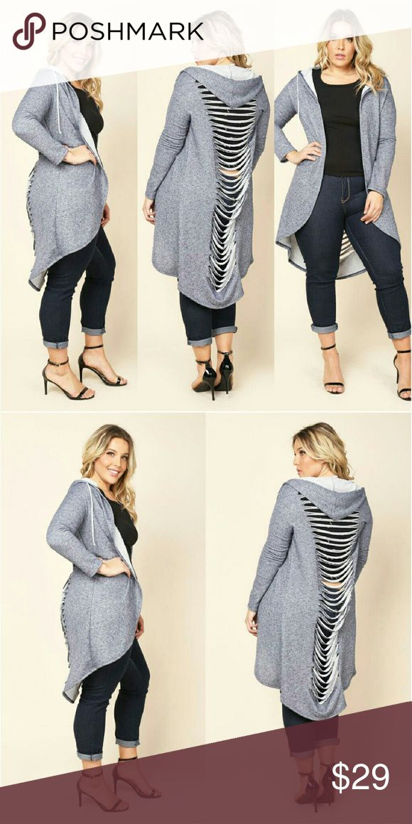 Beautiful plus size ripped cardigan 1x 2x 3x Plus size ripped cardigan 1x 2x 3x   Jackets & Coats