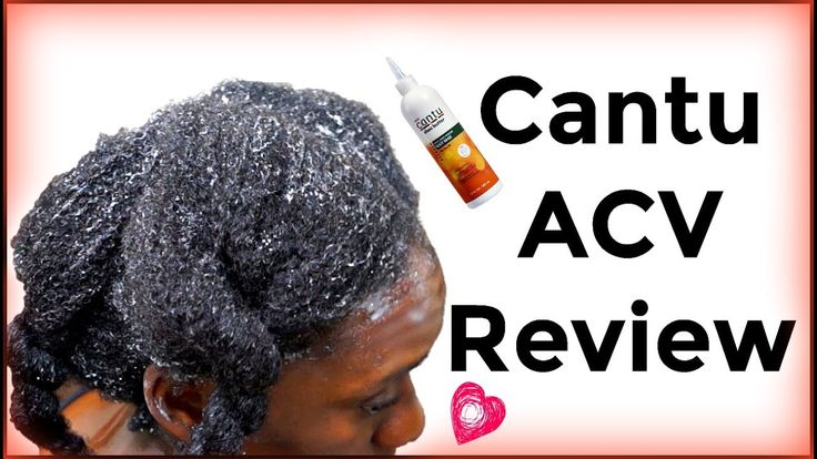 Wash Day Products | Cantu ACV Root Rinse First Impression on 4c Hair