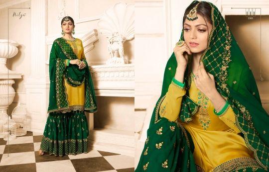 98bf0cfe8a LT NITYA VOL 125 SHARARA SALWAR SUITS CATALOGUE WHOLESALE INDIA 2501 - 2508  SERIES (18)