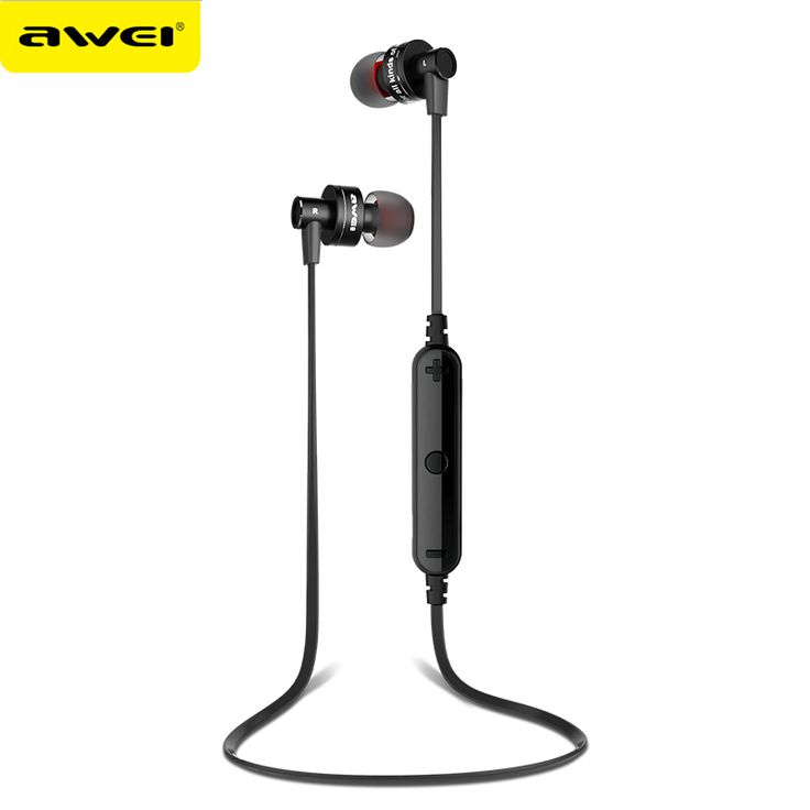 Awei A990BL High Quality Metal Bluetooth 4.0 Earphones - Sports Exercise Wireless (Headphones, Earbuds, Headset, Microphone, Stereo, Apple iPhone, Galaxy S6 S5, Android Smartphones) for Sale South Africa from Mercury Shop