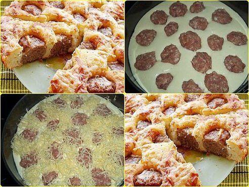 Очень вкусный и сытный пирог. Мужчины умяли за ужином с большим удовольствием)) | Школа вкуса - вкусные кулинарные рецепты