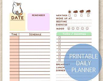 Die besten 25+ Cute daily planner Ideen auf Pinterest   Niedliche ...