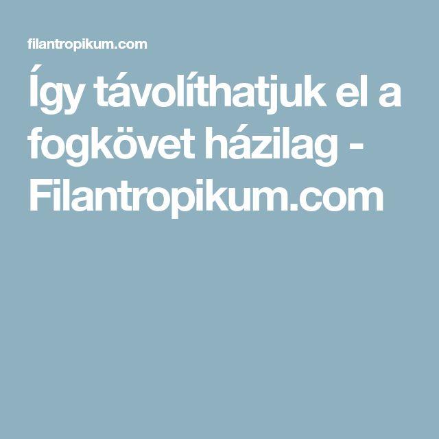 Így távolíthatjuk el a fogkövet házilag - Filantropikum.com