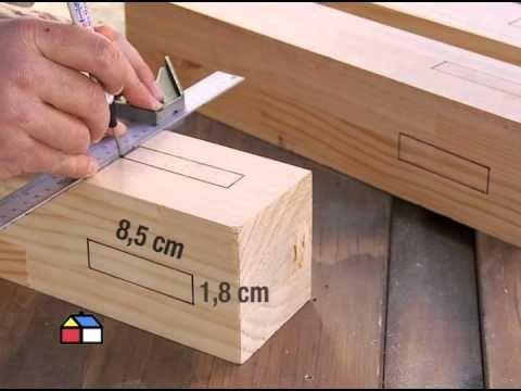 ¿Cómo construir una mesa de comedor? - YouTube
