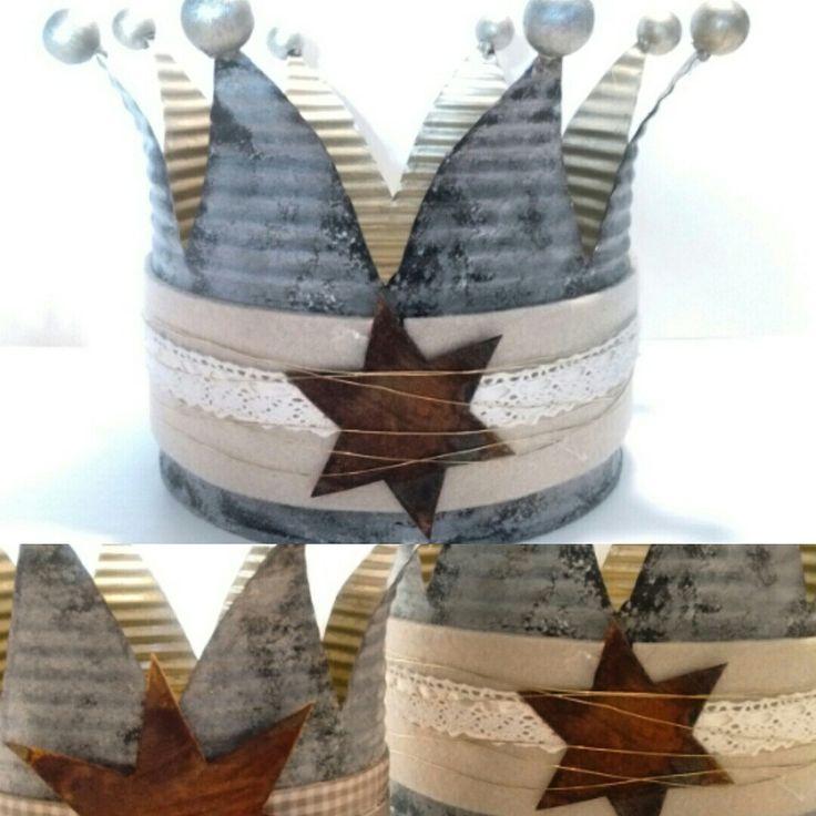 Kaeptnfraune krone konservendose blikke kroon for Blechdosen basteln